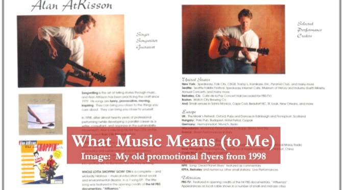 What Music Means (to Me)