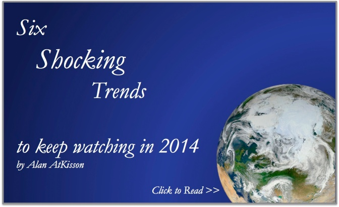 The world in 2014: six shocking trends to keep watching