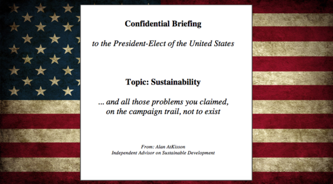 To the President-Elect: A Confidential Briefing